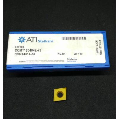 CCMT 12004E-73 ATI-Stellram eszterga lapka