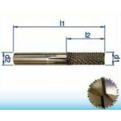 5 x 16 mm keményfém maró üvegszálas műanyag és hab (GFK, CFK) anyagokhoz, 50mm teljes hossz, 5mm szár átmérő